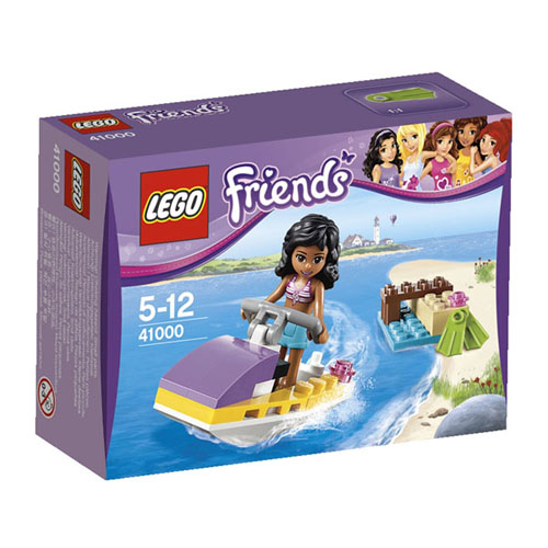 【LEGO 樂高積木】Duplo 得寶公主系列 - 快艇玩樂 LT 41000