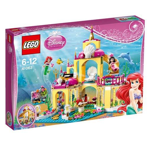 【LEGO樂高積木】Duplo系列-小美人魚的海底宮殿 LT 41063