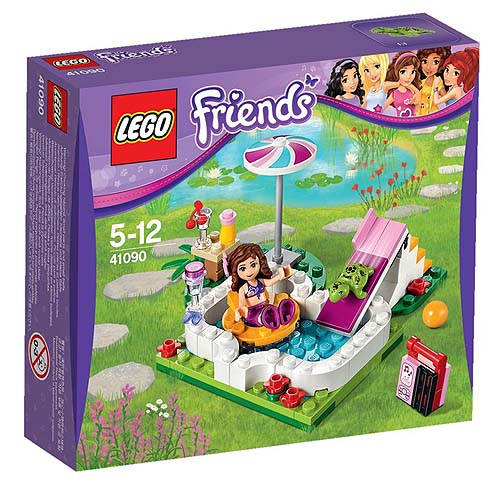 【LEGO樂高積木】Friends系列-奧利維亞的花園 LT 41090