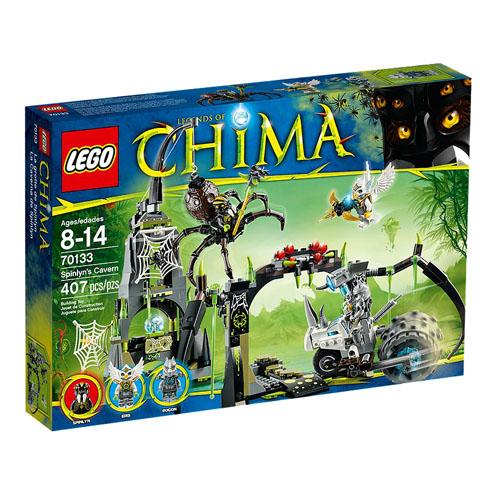 【LEGO 樂高積木】Chima 神獸傳奇系列 - 蜘蛛妖后的洞穴 LT 70133