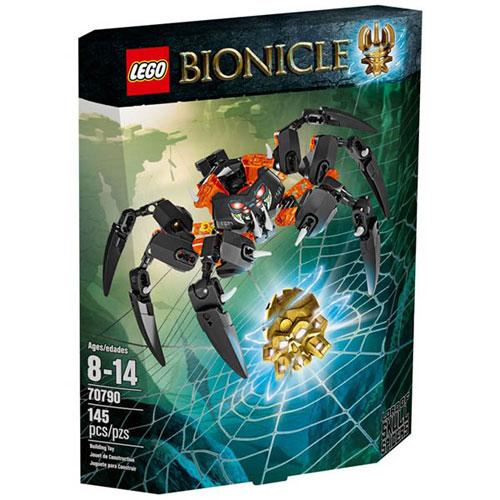 【LEGO 樂高積木】BIONICLE 生化戰士系列 - 骷髏蜘蛛王 LT 70790
