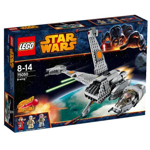 【LEGO 樂高積木】STAR WARS 星際大戰系列 - B-Wing 重火力戰機 LT 75050