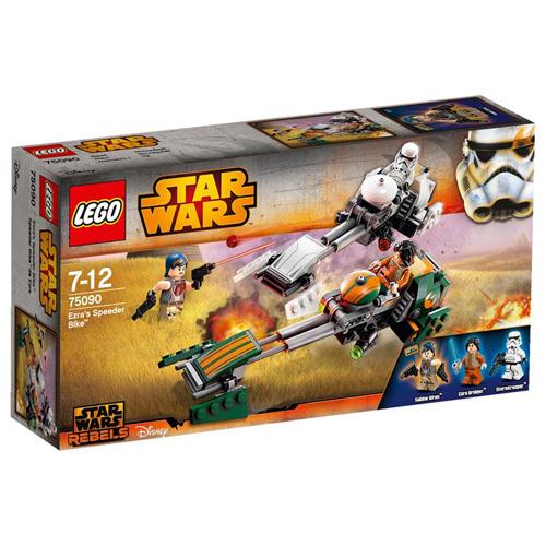 【LEGO 樂高積木】星際大戰系列 - Ezra 反重力摩托車 LT 75090