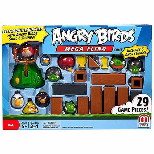 【 MATTEL 】憤怒鳥桌上遊戲系列 - 巨無霸飛翔憤怒鳥遊戲組