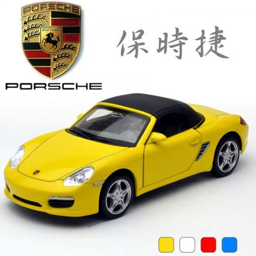 【MSZ 迴力合金車】1:32 PORSCHE Boxster (68364)