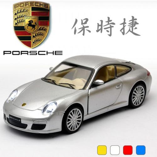 【MSZ 迴力合金車】1:32 PORSCHE Carrera s (38374)