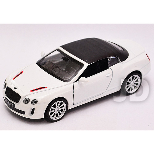 【MSZ 迴力合金車】1:43 BENTLEY CONTINENTAL SUPERSPORTS ISR (69467-ISR)