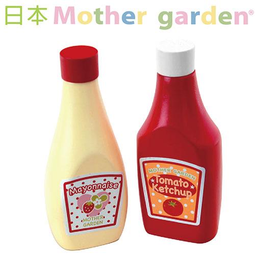 【日本Mother Garden】野草莓番茄醬/美乃滋調味瓶 MG000064
