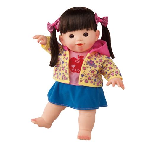 【日本知育洋娃娃】新俏麗長髮 POPO-CHAN AI-323 (凡購買娃娃款即加贈兒童用牙刷+水杯一組)