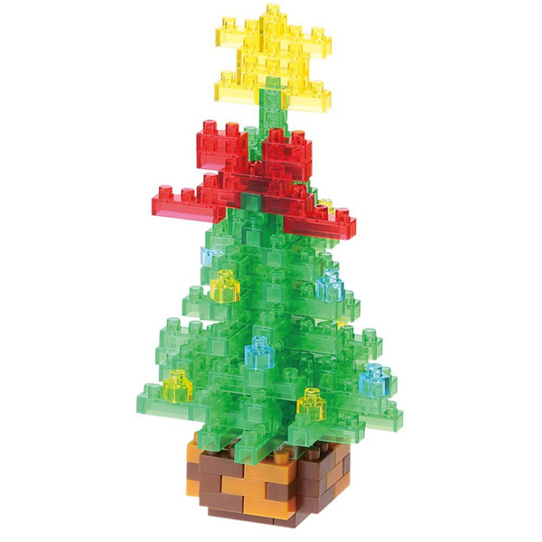 【Nanoblock 迷你積木】NBC-155 聖誕樹 (2015)