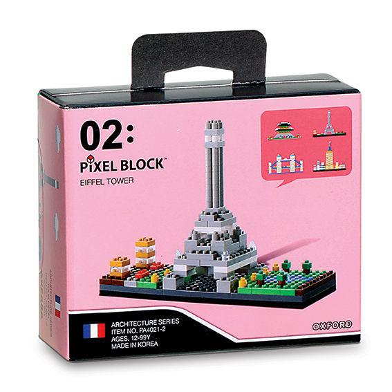 【OXFORD BLOCK】迷你小積木-世界建築物-巴黎鐵塔 OX00202