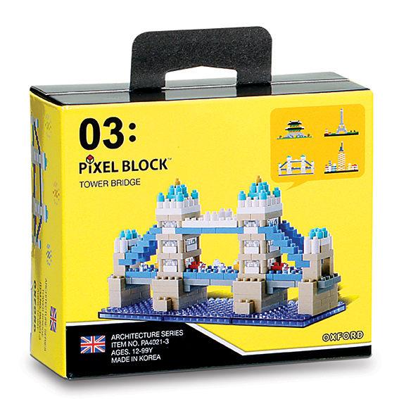【OXFORD BLOCK】迷你小積木-世界建築物-倫敦大橋 OX00203