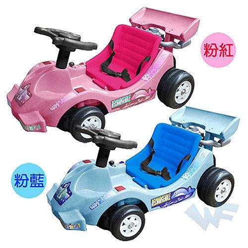 【MIT 精選童車】久達尼電動車系列 - 鯨魚大賽車 TCV-338