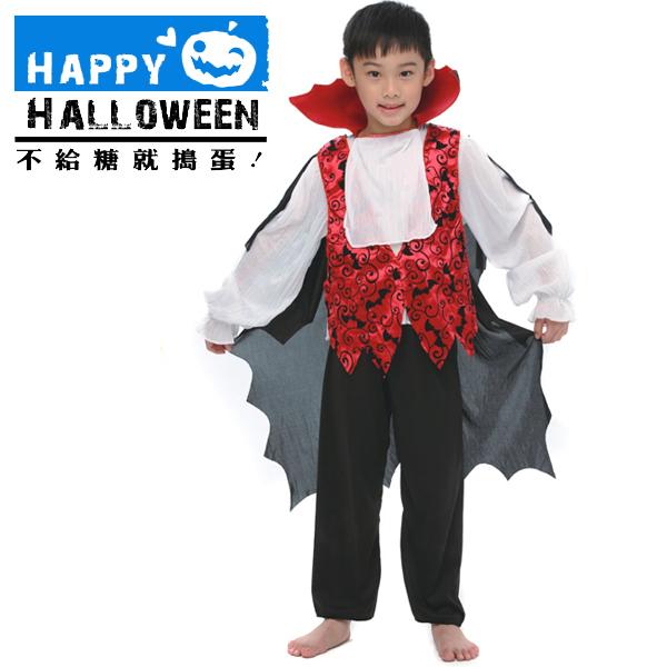 【派對服裝-藍標】華麗吸血鬼裝 F0014550( 派對服裝系列滿額599元加送南瓜糖袋1個 )