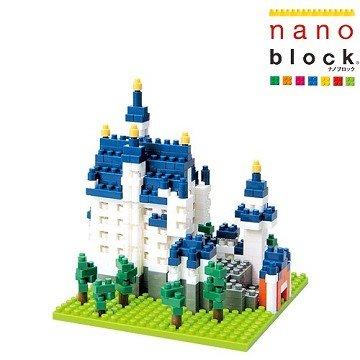 【Nanoblock - 世界主題建築系列】新天鵝堡 NBH-010