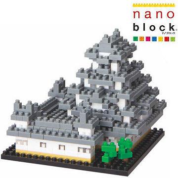【Nanoblock - 世界主題建築系列】姬路城 NBH-018
