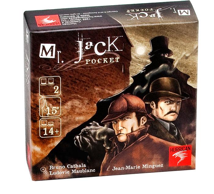【樂桌遊】開膛手傑克(口袋版) Mr Jack-Pocket (附中文說明)