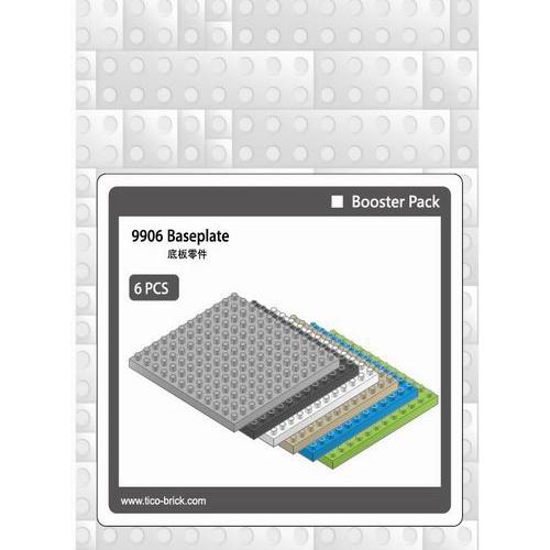 【Tico微型積木】零件補充包 -底板 9906