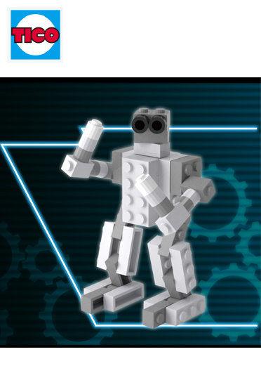 【Tico微型積木】機器人/50pcs 3007