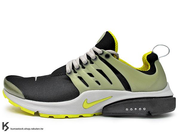 2015 經典鞋款 重新復刻 NIKE AIR PRESTO QS 黑芥末黃 原版配色 慢跑鞋 隱藏式氣墊 (789870-001) !