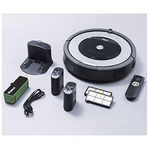iRobot Roomba 875 掃地機/吸塵器加贈濾網6片及邊刷3支+防撞條+清潔刷+保護貼(2倍池壽命)