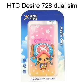 海賊王透明軟殼 [漸層] 喬巴 HTC Desire 728 dual sim 航海王保護殼【正版授權】