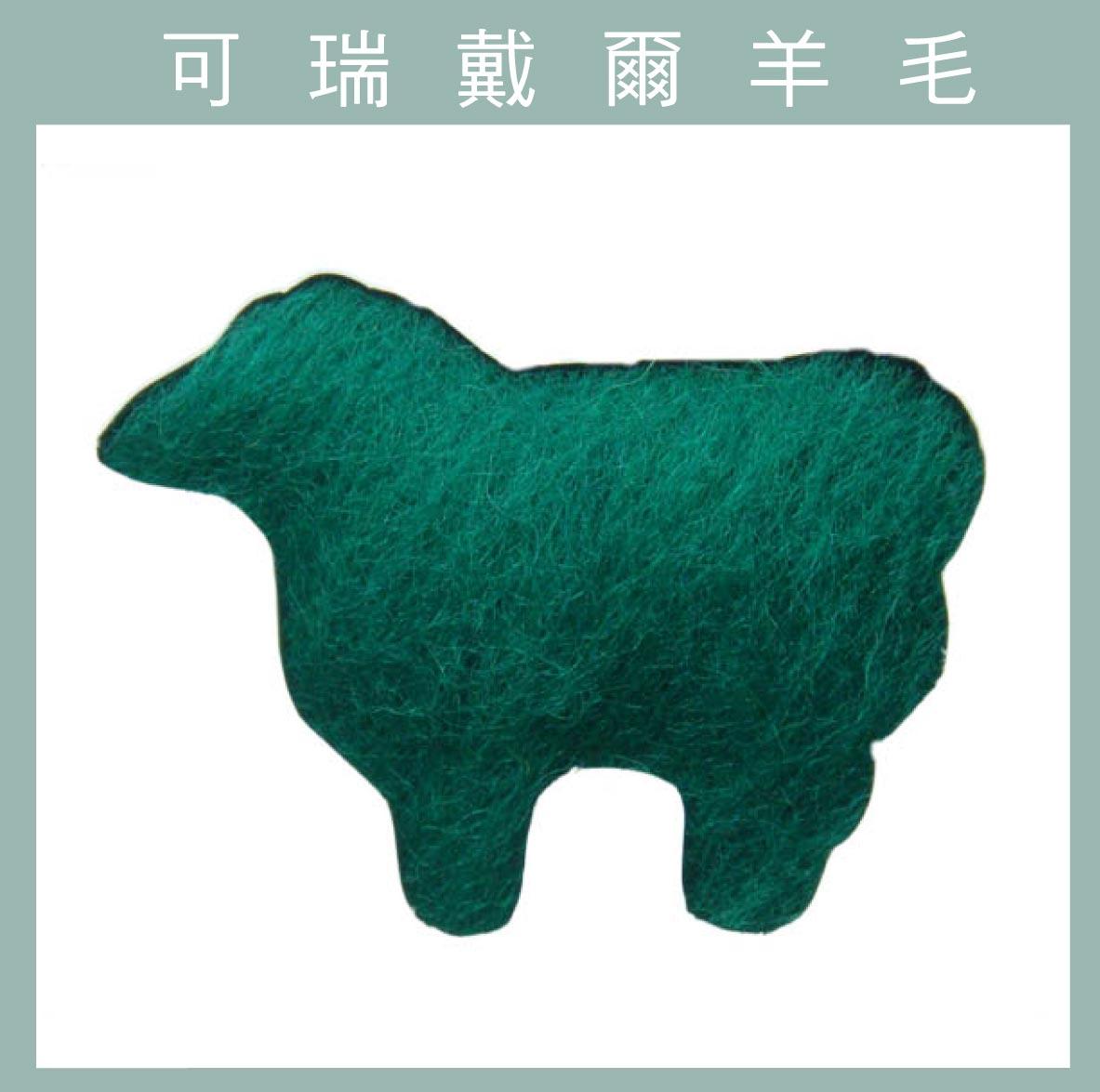 紐西蘭ASHFORD-可瑞戴爾羊毛[10克]C31綠色
