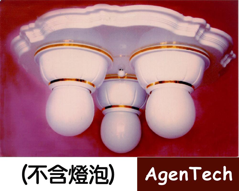 AT-482美術吸頂三燈燈具
