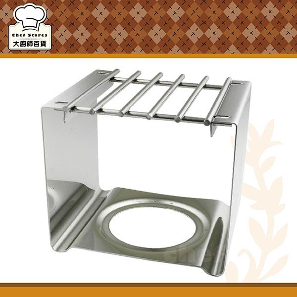 寶馬牌四方型不鏽鋼爐架白鐵爐架可搭迷你小瓦斯爐摩卡壺使用-大廚師百貨