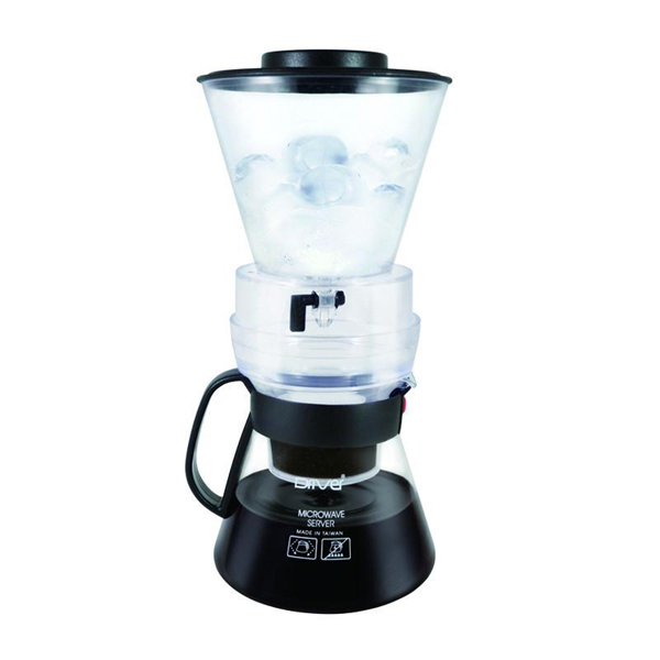 Driver ECO冰滴咖啡壺組600ml調整流速開關極細濾網-大廚師百貨