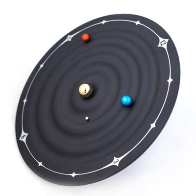 時鐘 藝術掛鐘-概念銀河系行星磁力創意壁鐘72z39【獨家進口】【米蘭精品】