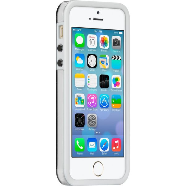 ☆EXPC☆ 正原廠公司貨 CASE MATE NAKED TOUGH for iPhone5/5s白框  保護套 手機殼 矽膠