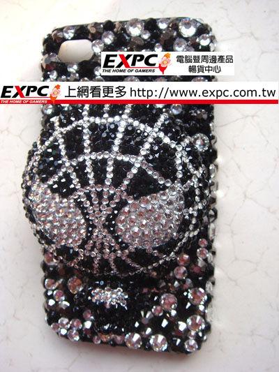 EXPC 黑色 蜘蛛人 蜘蛛俠 黑白底 iPHONE/SAMASUNG/HTC/貼鑽 水鑽 手機殼 手機殼專賣店