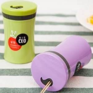 美麗大街【BF001E15】簡約牙籤盒桶裝家用竹牙籤罐戴牙籤 創意調味罐