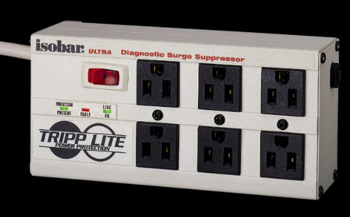 {音悅音響}Tripp Lite Isobar 6 Ultra Surge Suppressor 濾波 穩壓電源排插 防突波
