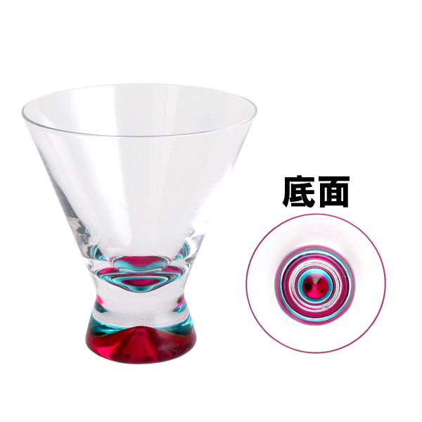 北歐風格【Dansk】Spectra 幻彩雞尾酒杯/甜點杯 200ml 粉紅色