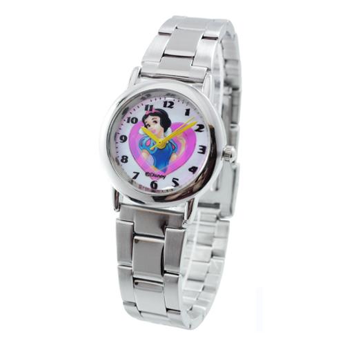 Disney白雪公主鐵帶石英錶