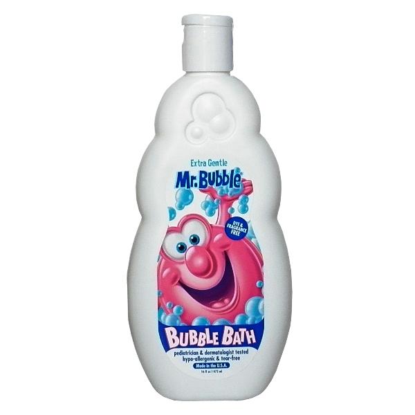 美國Mr.Bubble泡泡乳16oz -溫和無香精