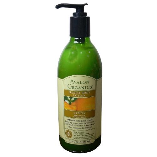 美國AVALON檸檬身體乳液-350ml