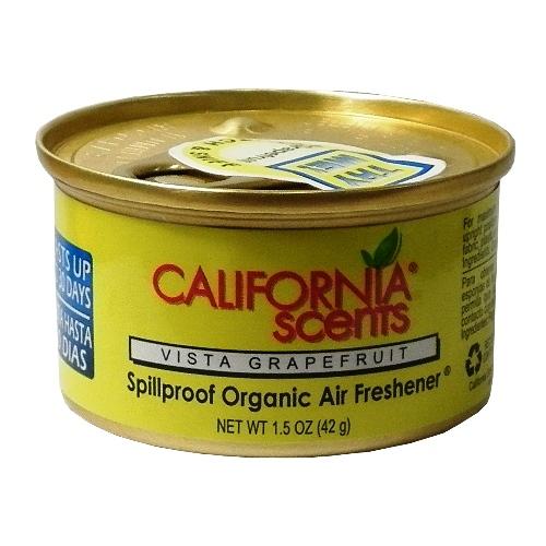 California Scents加州淨香草室內芳香罐-葡萄柚Vista Grapefruit