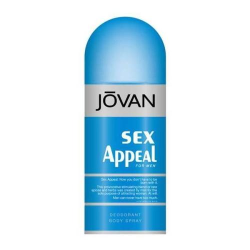 JOVAN Sex Appeal for Men 男性麝香體香噴霧(魅力誘惑150ml)