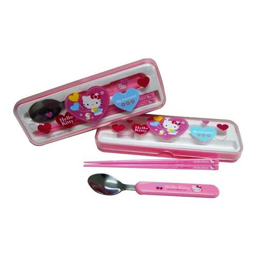 Hello Kitty兩件式餐具組
