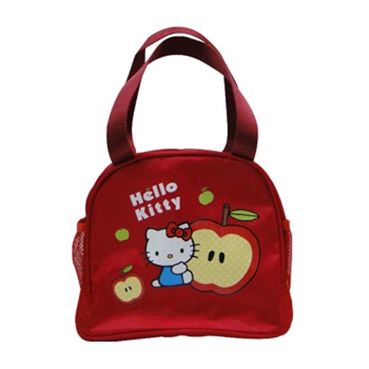 Hello Kitty蘋果單層便當袋