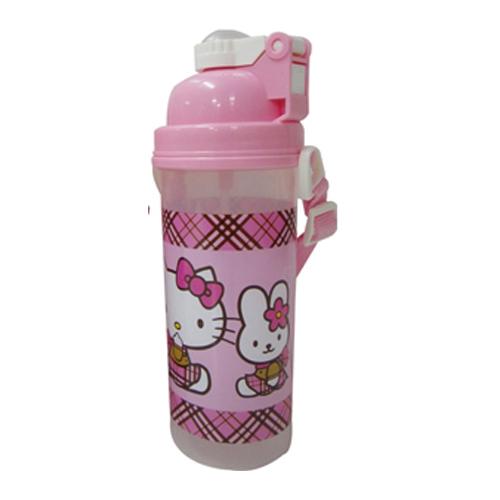 Hello Kitty背帶式彈跳水壺7000c.c