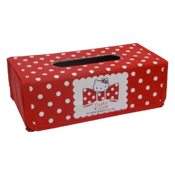 Hello Kitty蝴蝶結面紙盒