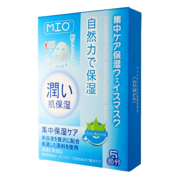 MIO集中保濕天絲布面膜-5片裝