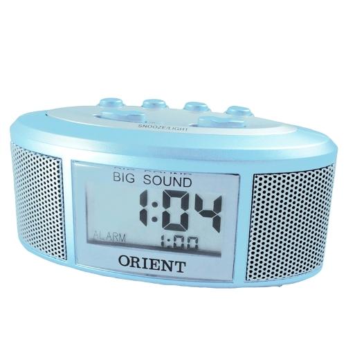 (東方ORIENT)時尚音響造型電子鬧鐘LA-0402-藍