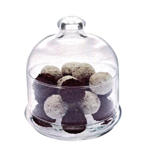 土耳其Pasabahce精緻玻璃巧克力盅