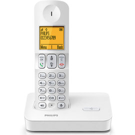 PHILIPS飛利浦數位無線電話(白色) D4001W / D-4001