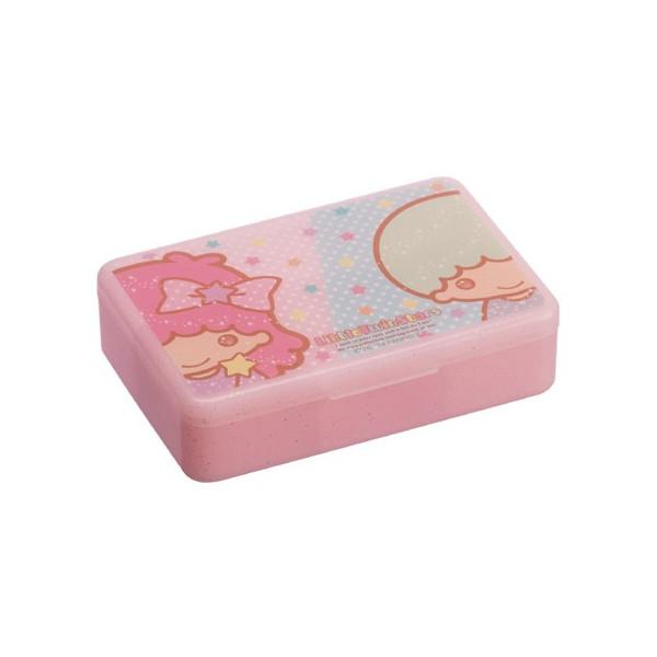 【真愛日本】16022400004 收納盒-TS星星粉 三麗鷗家族Kikilala雙子星 收納盒 耳環項鍊 飾品盒